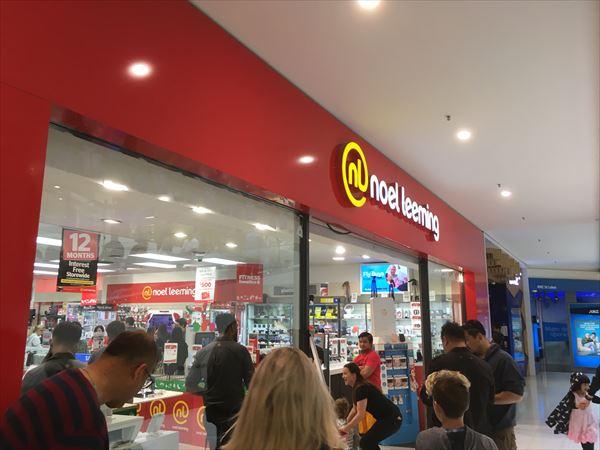 ニュージーランドの家電量販店