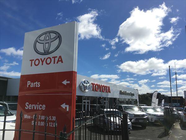 ニュージーランドの日本の会社、トヨタ