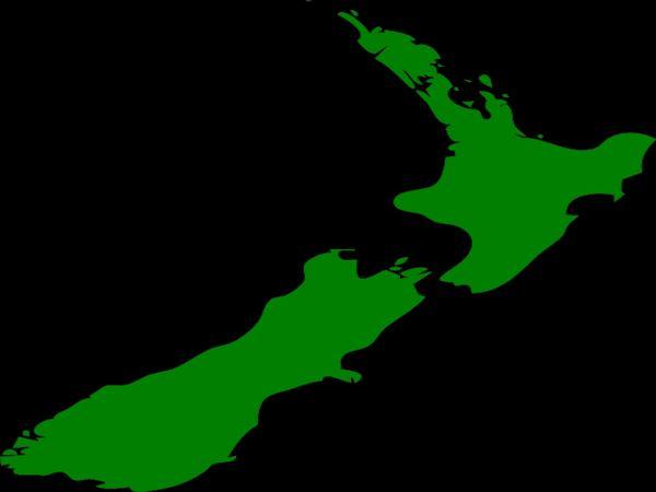 ニュージーランドは日本から見て南の方にある