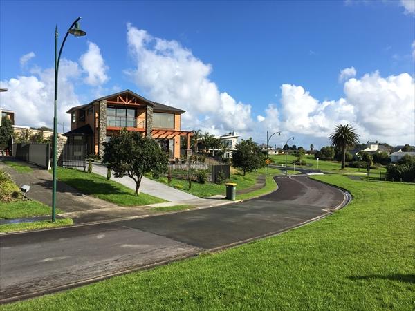 ニュージーランドの一軒家