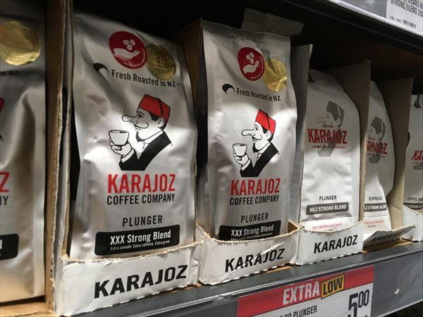 スーパーで売ってるカラジョーのコーヒー