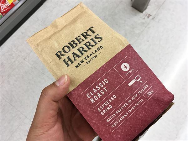 ロバートハリスのコーヒー