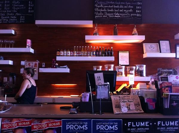 ニュージーランドのカフェは個人店が多い