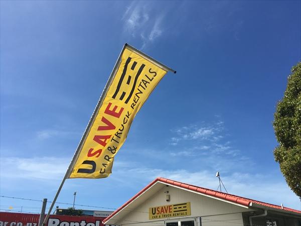 ニュージーランドのレンタカー会社USAVE