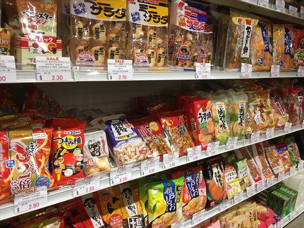 日本食材の専門店で売られているもの