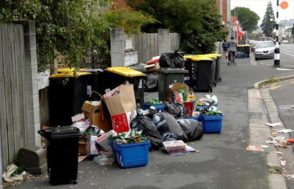 ニュージーランドのゴミ分別の現状