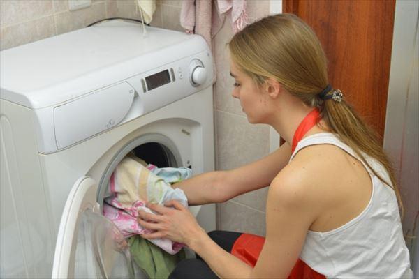 ホームステイで洗濯しても乾燥機は無い?