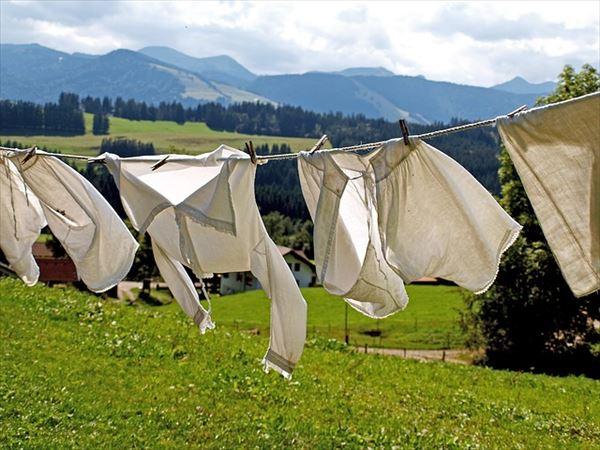 ニュージーランドで洗濯する場合