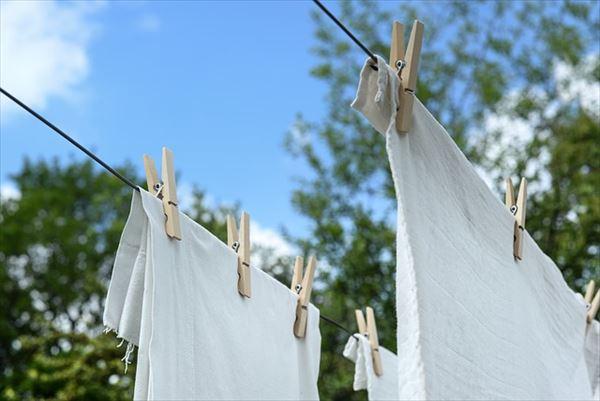 ニュージーランドで洗濯物の干し方