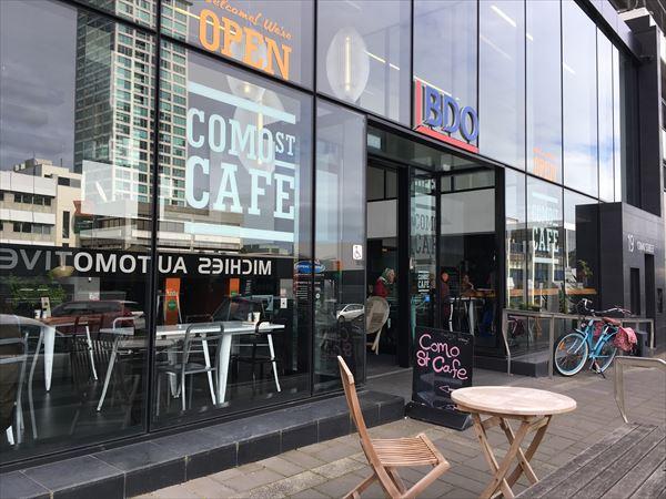 オークランド/タカプナのカフェ、COMO STREET CAFE