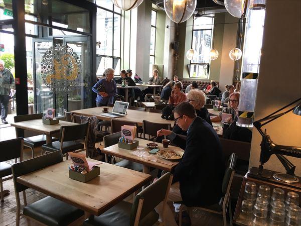 ニュージーランドの旅行先でもカフェ