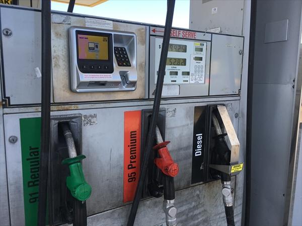 ニュージーランドのガソリンの種類