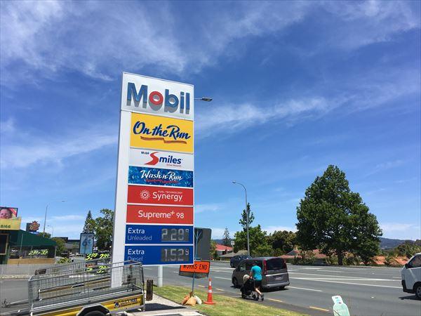 ガソリンの価格は良く変動する