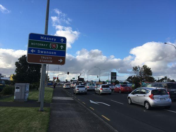 ニュージーランドは車社会