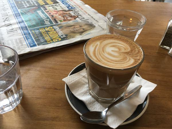 HALRAN PEPPERのカフェのコーヒー