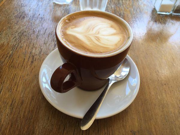 コーヒーは無難な味