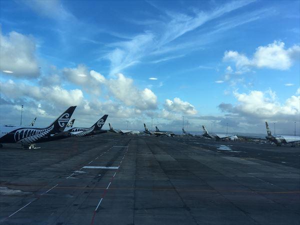 ニュージーランド航空が運休を決定