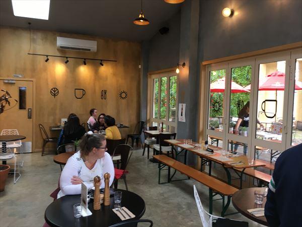 ORO Café の店内